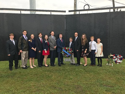 Iowa members visit the Wall That Heals
